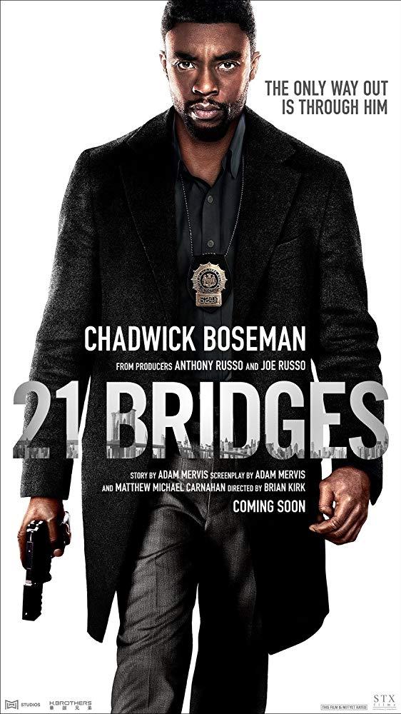ดูหนังใหม่ชนโรง 21 Bridges (2019) เผด็จศึกยึดนิวยอร์ก HD พากย์ไทย Action บู๊