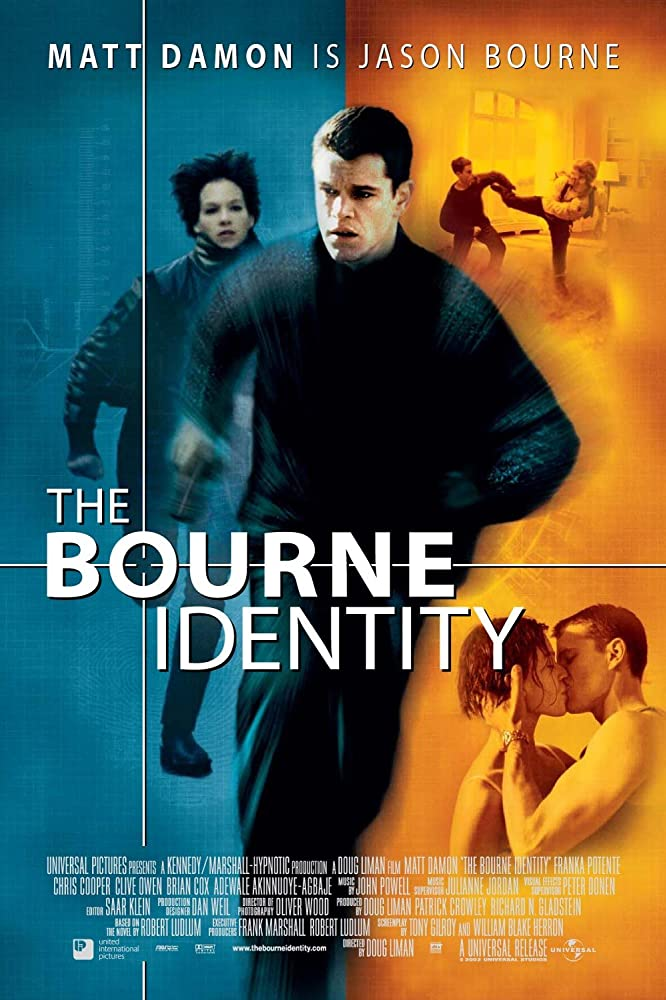 ดูหนังออนไลน์ The Bourne Identity (2002) ล่าจารชน ยอดคนอันตราย HD พากย์ไทยเต็มเรื่อง